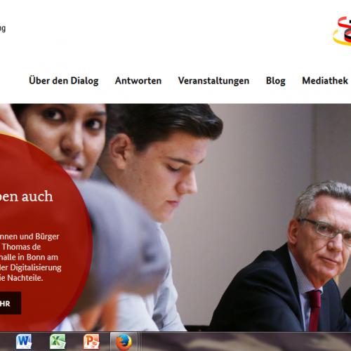 Bürgerdialog - Gut leben in Deutschland